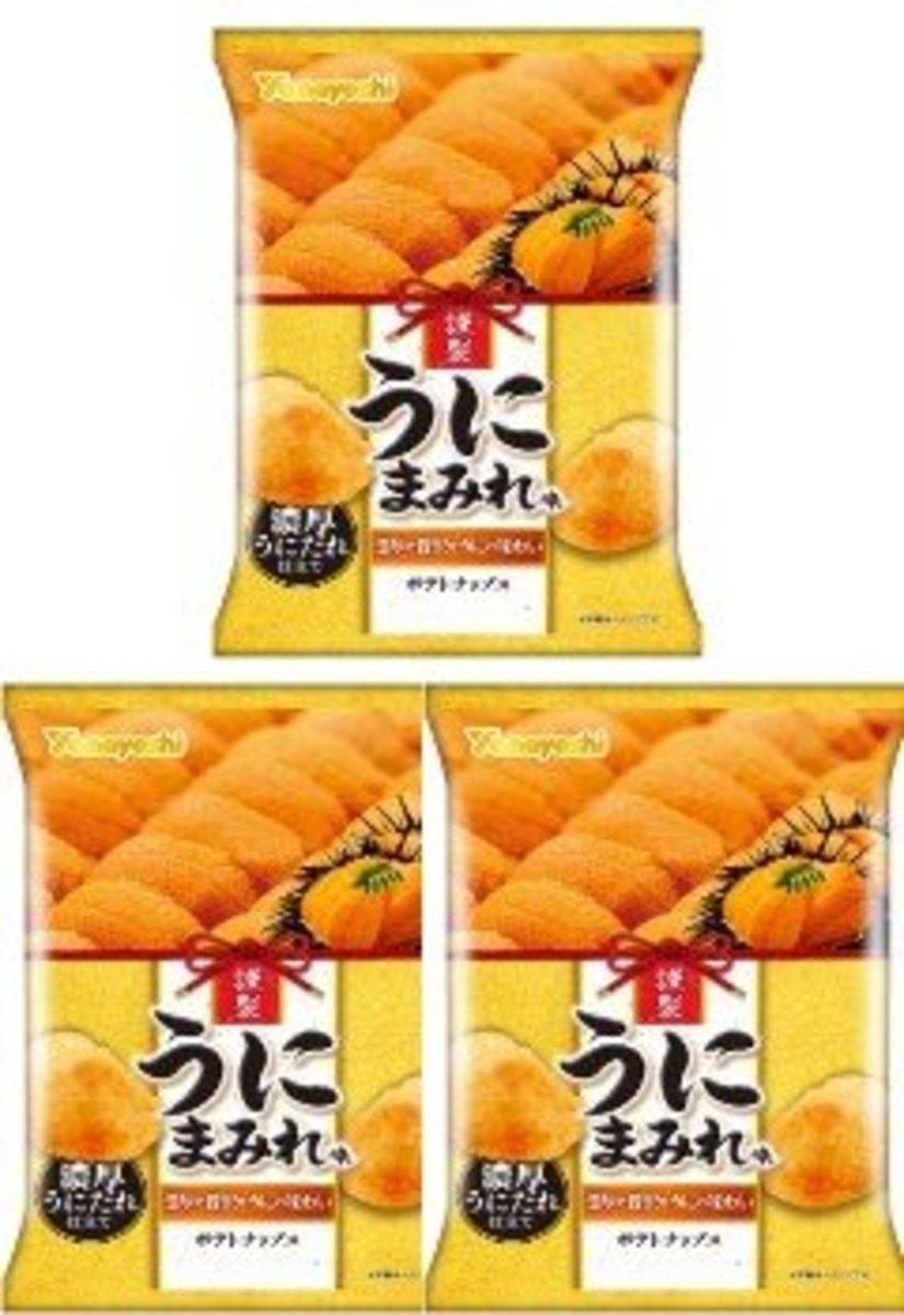 Yamayoshi Seika   3 pcs Japan Version Sea Urchin Flavor Chip