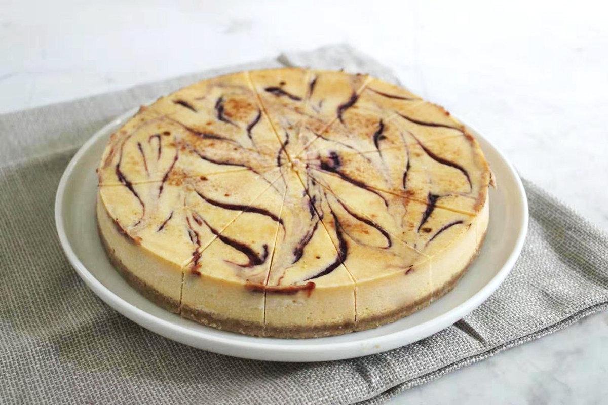 紐西蘭白朱古力覆盆莓芝士蛋糕 25cm - 切件 x 16