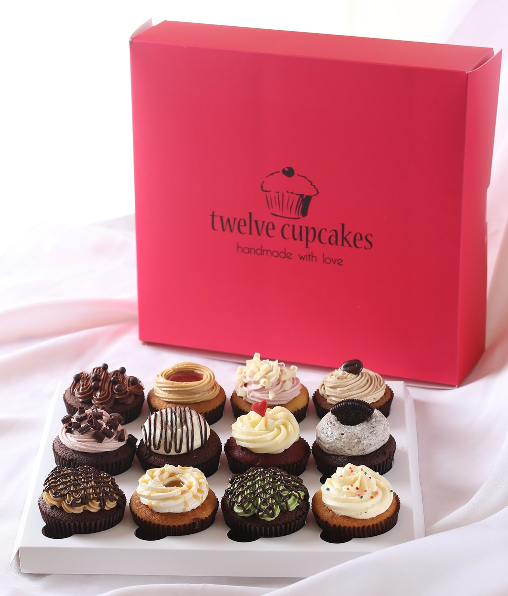 Twelve Cupcake Daily Classic 杯子蛋糕系列禮劵(12件裝)