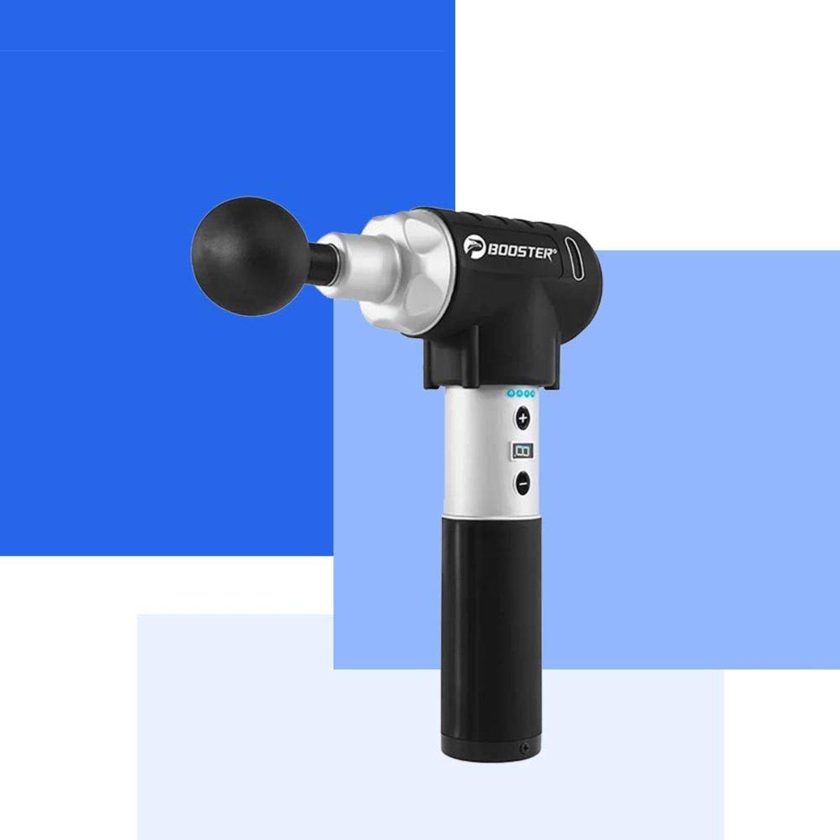 深層肌肉治療按摩槍 - Booster Pro 2 (銀黑色)