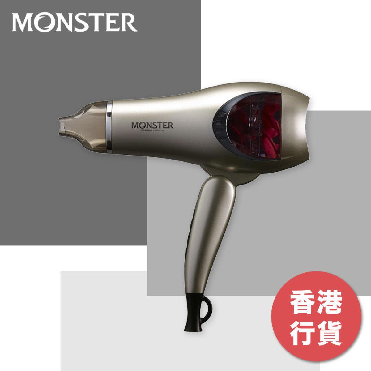 Monster Double Fan Hair Dryer - KHD-W720/HN (Gold)