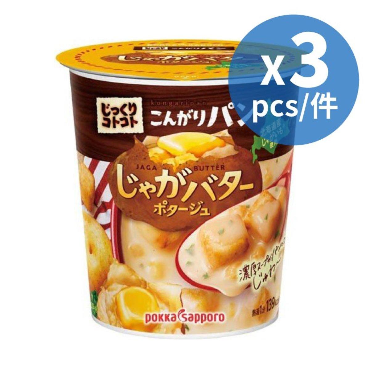 麵包粒薯仔牛油濃湯 31g X 3