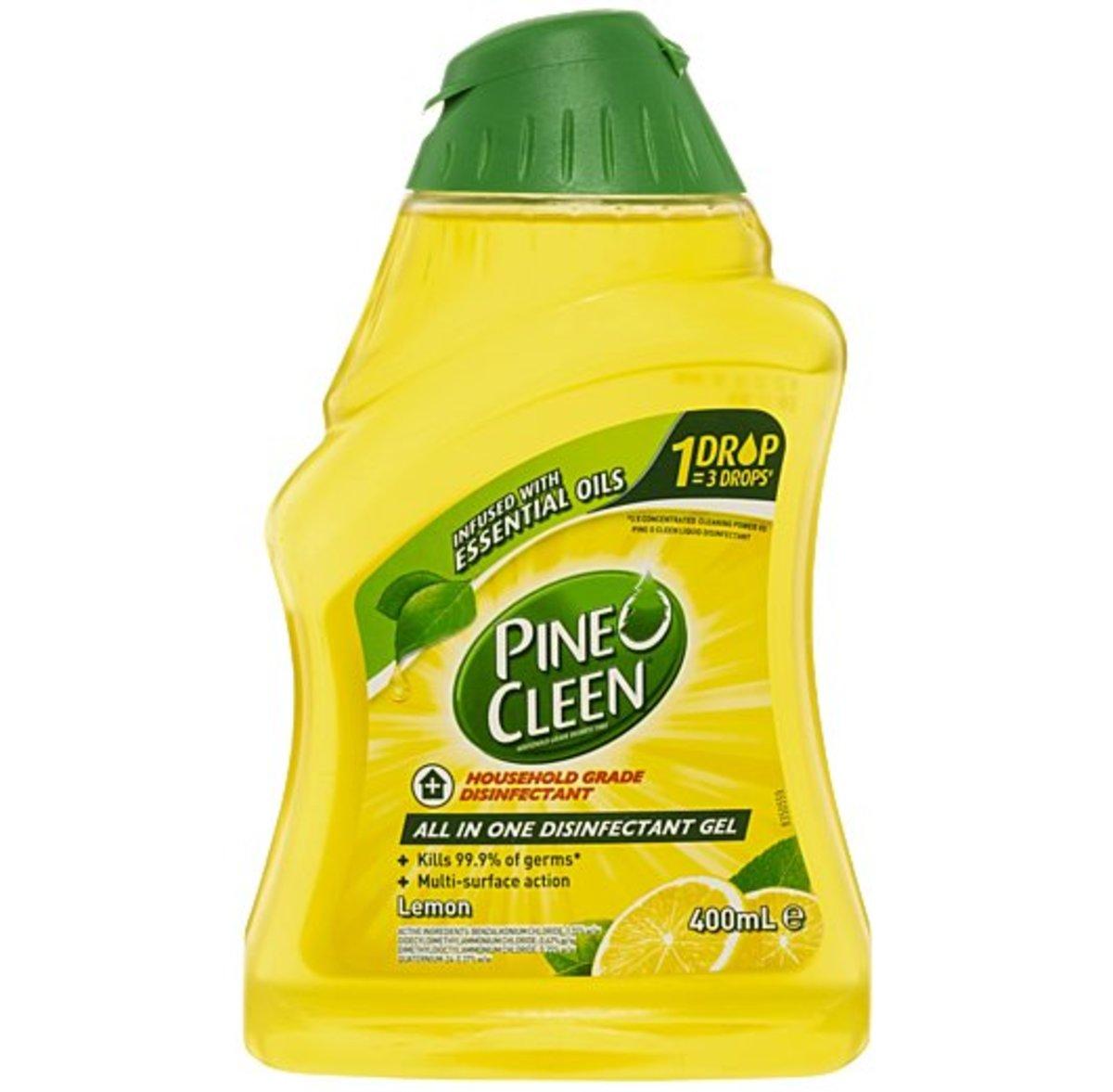 檸檬味 - 多用途消毒清潔啫喱(400ml)