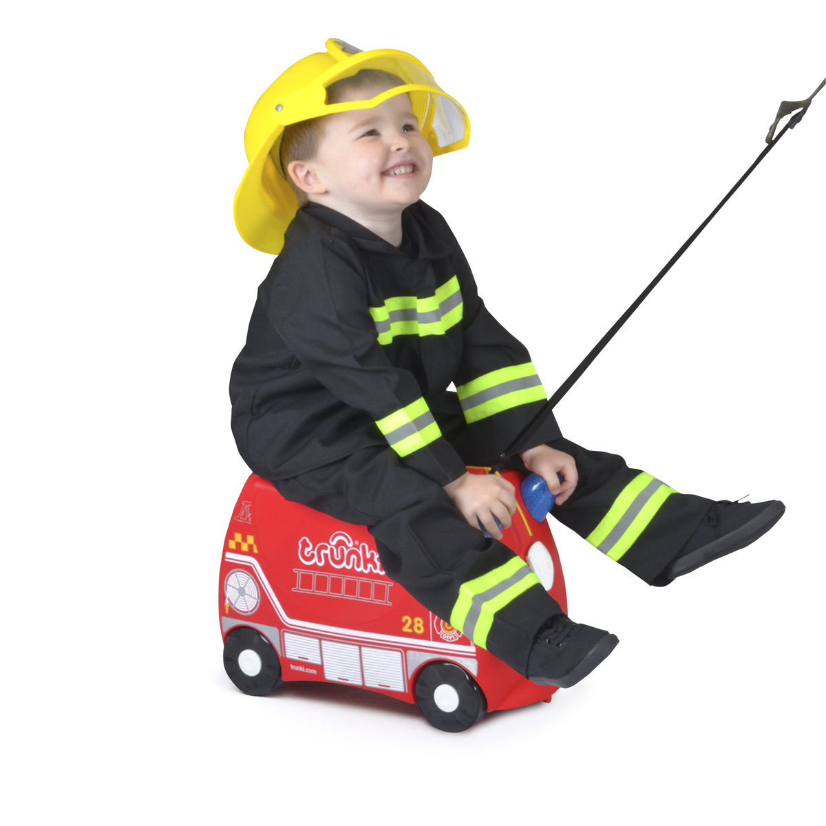 Suitcase - Fire Engine Frank