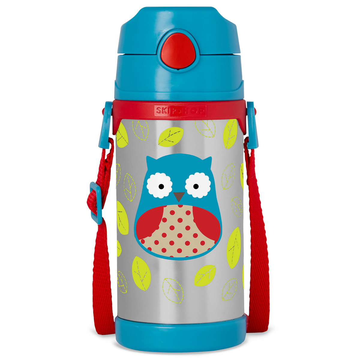 Zoo Insulated Stainless Steel Bottle - Owl