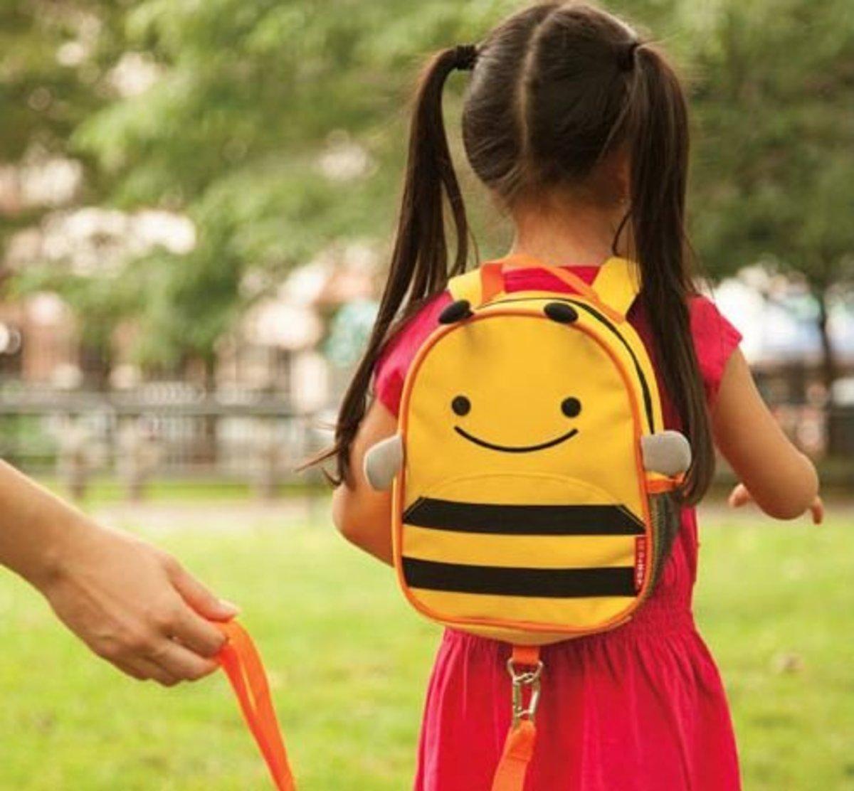 可愛動物園迷你背包 - 小蜜蜂