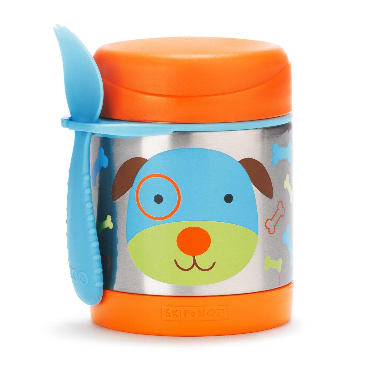 可愛動物園保溫食物壺 - 小狗