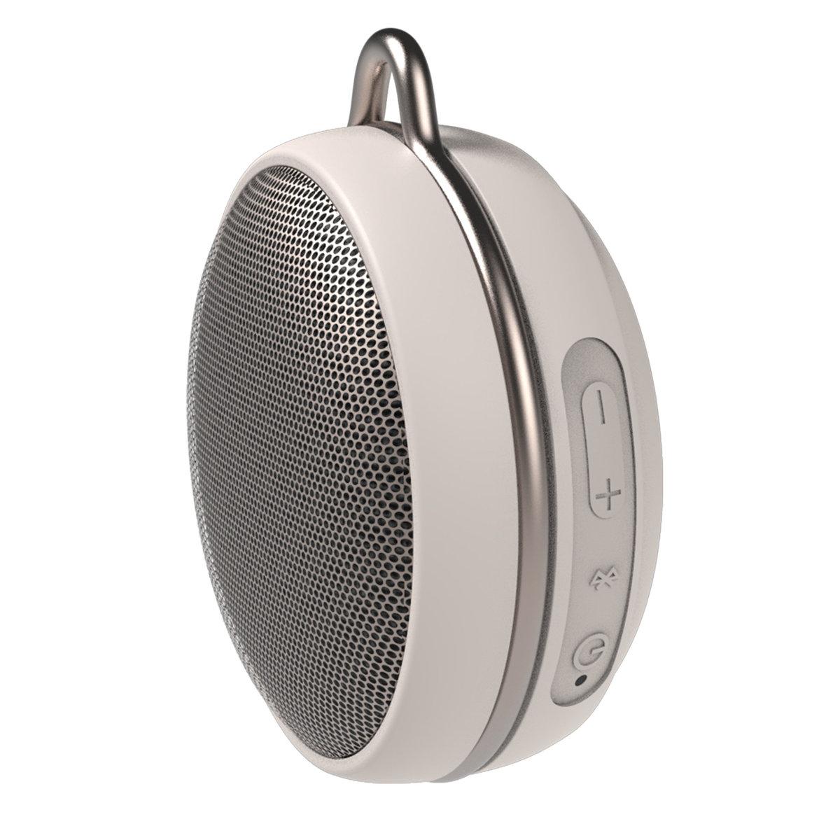 MACARON Mini Waterproof Bluetooth Speaker - Pearl White - True Wireless Stereo Bluetooth Speaker
