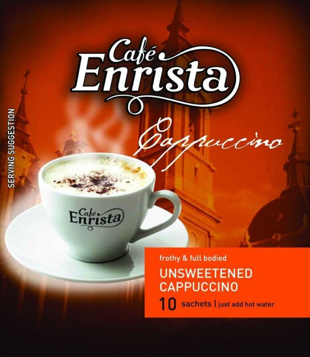 2 in 1 Unsweetened Cappuccino