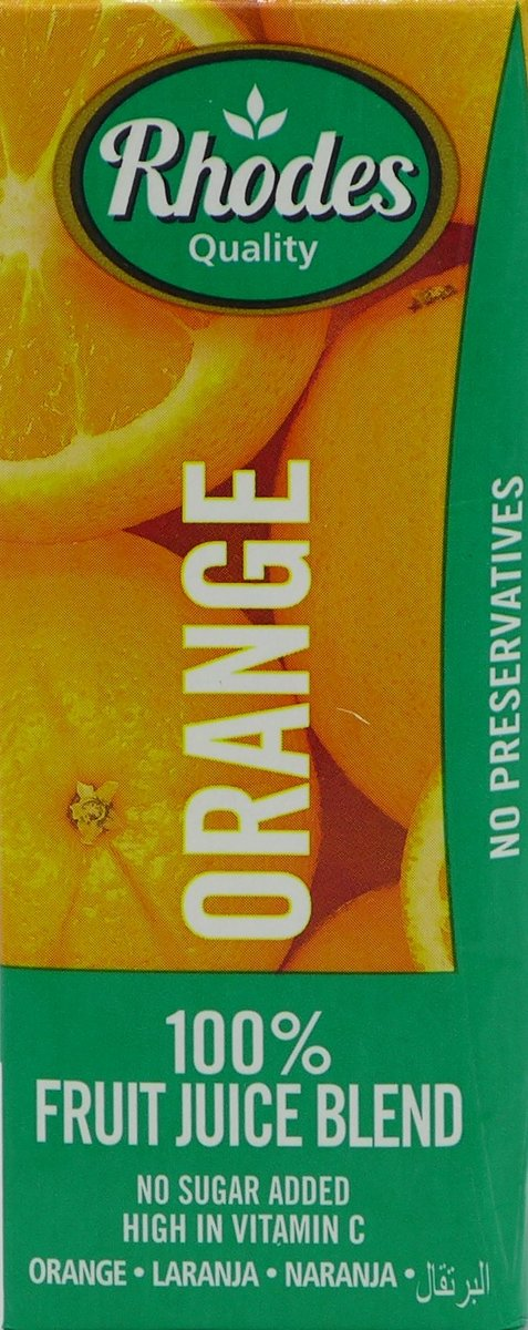 全天然100%鮮橙混合果汁