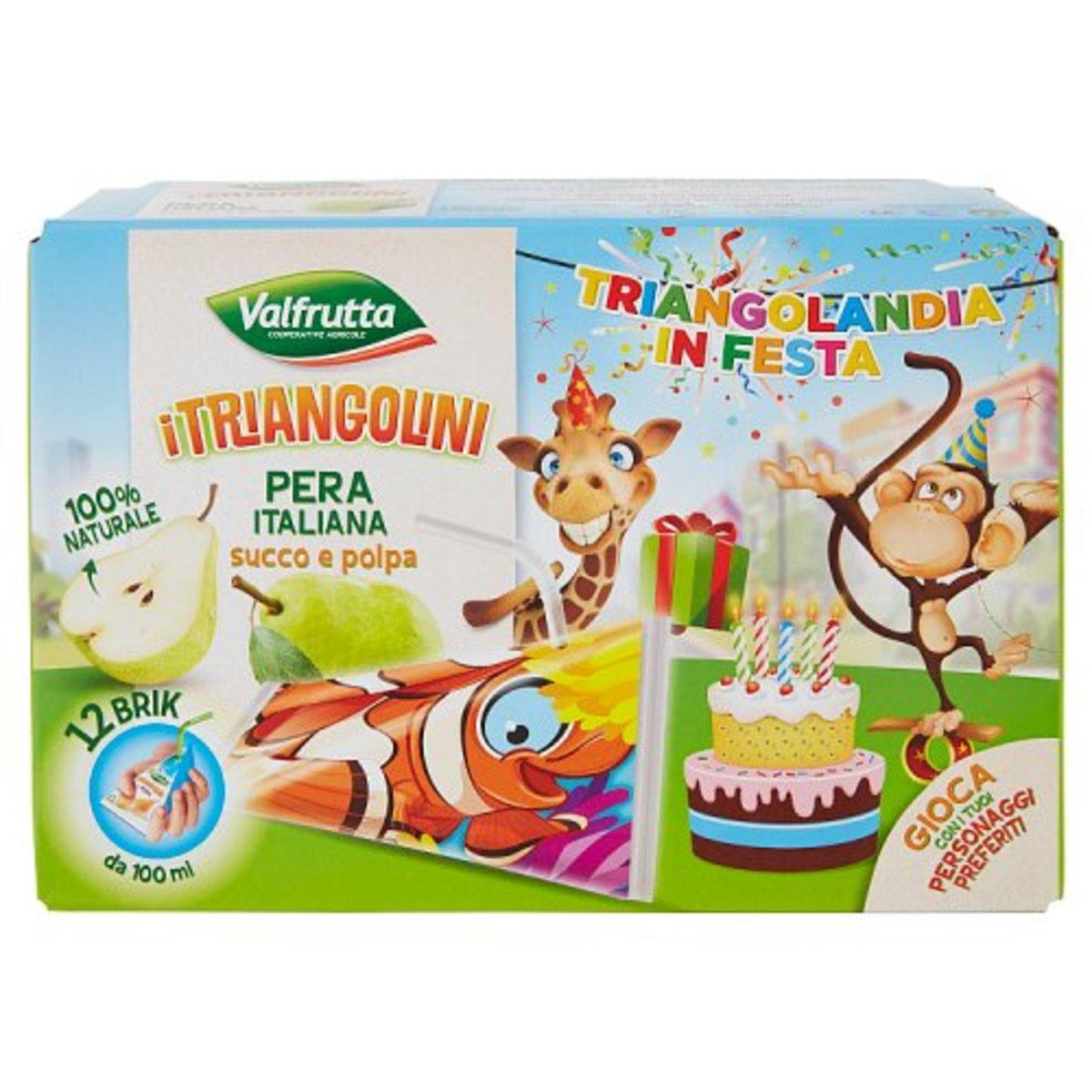 意大利三角形果汁 – 梨汁 (原箱12盒 )