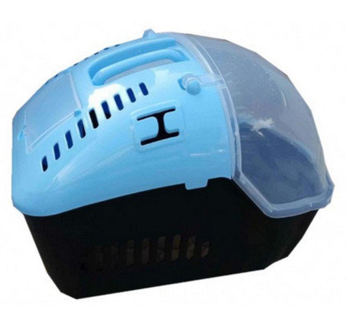 新款寵物籠手提籠 (S) (46 x 32 x 32cm) (藍黑色)