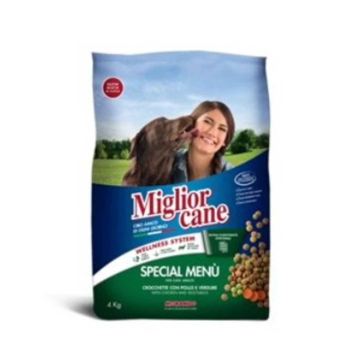 Special Menu with Chicken and Vegetables Adult Dog Food 10kg
