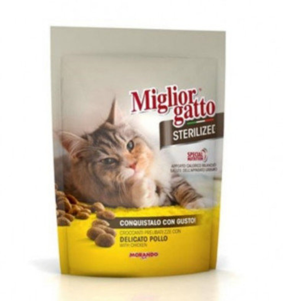 MORANDO Migliorgatto Sterilized with Chicken Dry Cat Food 800g