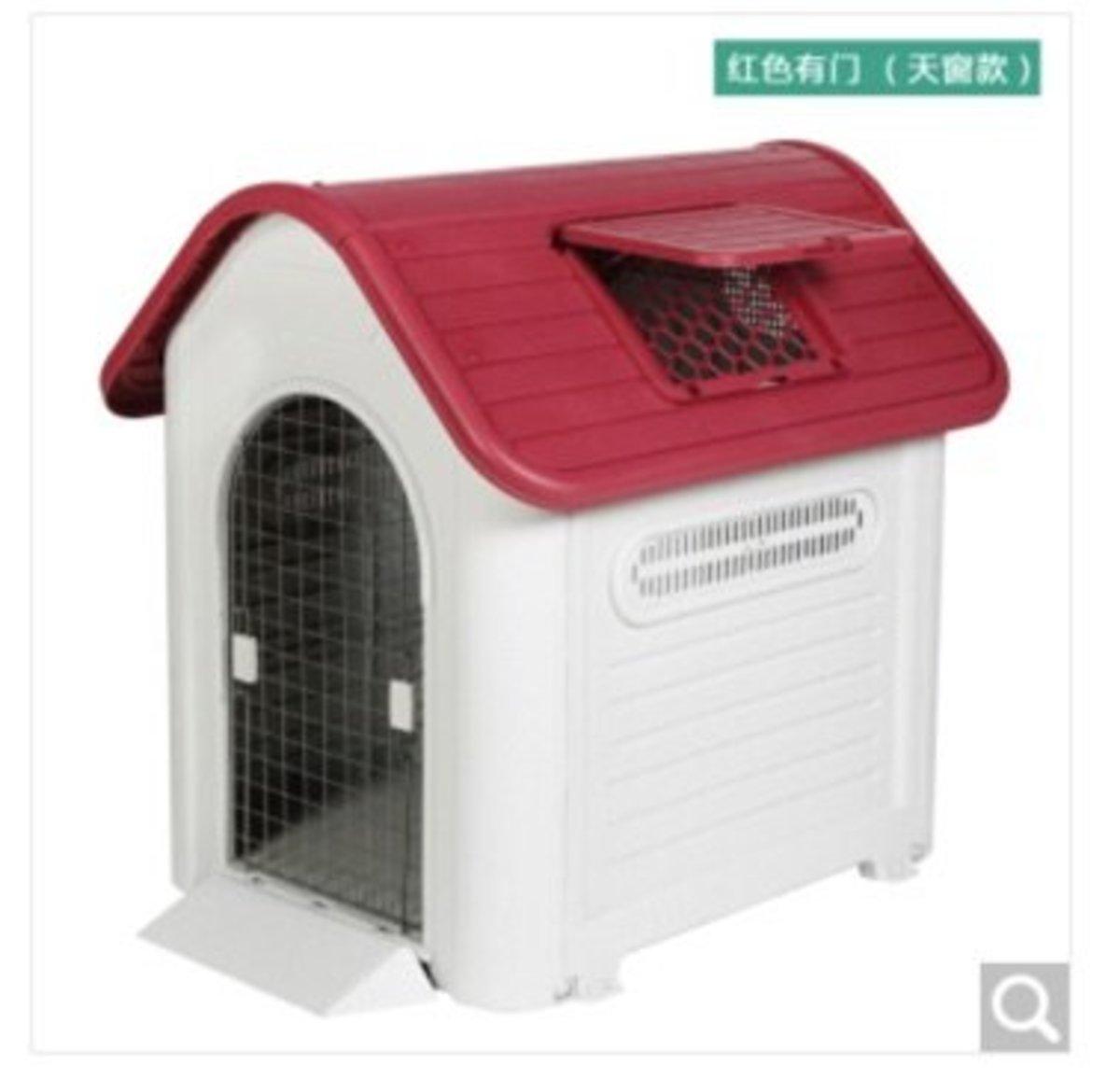 戶外防水狗屋XXL419A(紅色有門)巨型犬