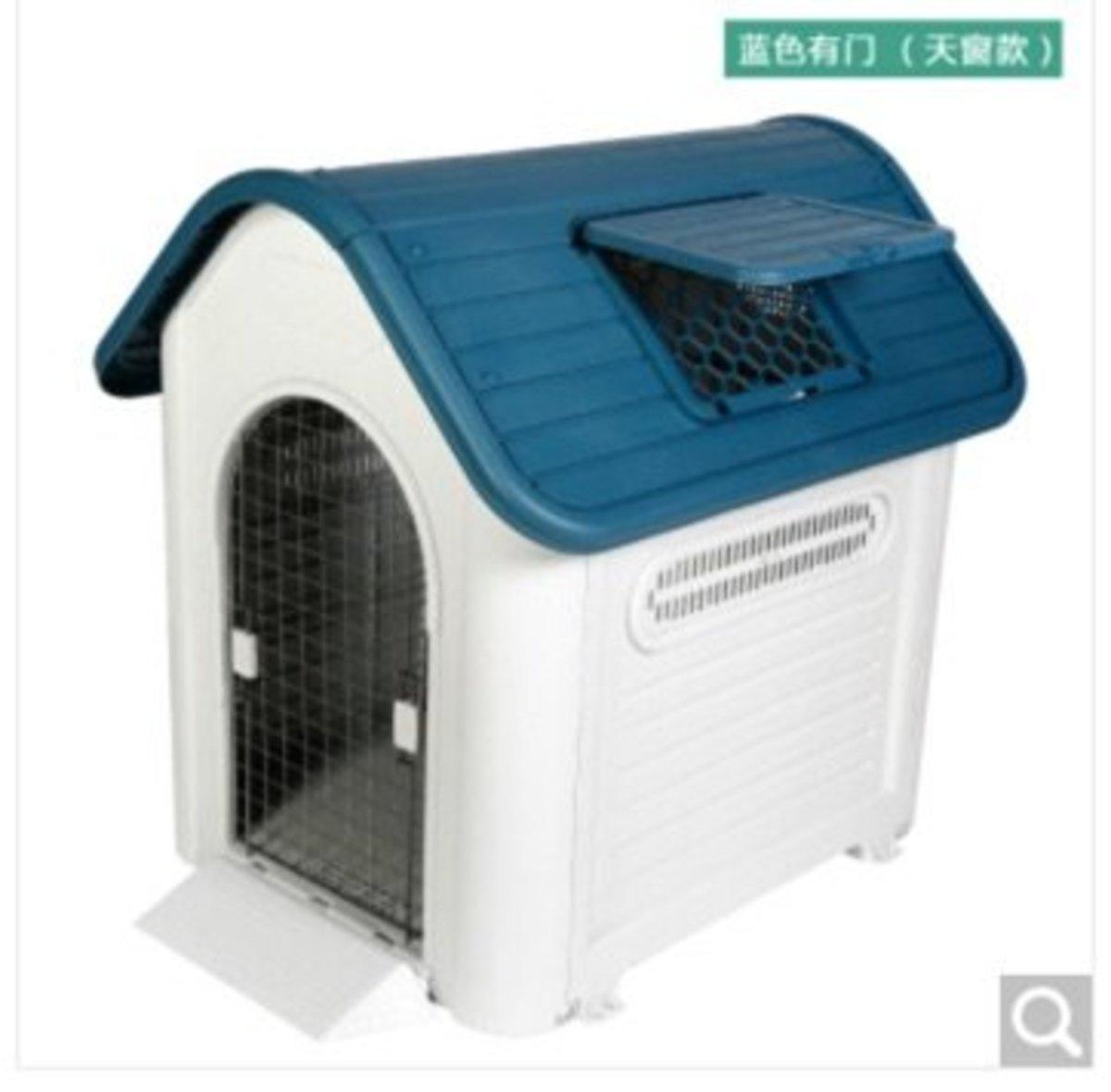 戶外防水狗屋XXL419A(藍色有門)巨型犬