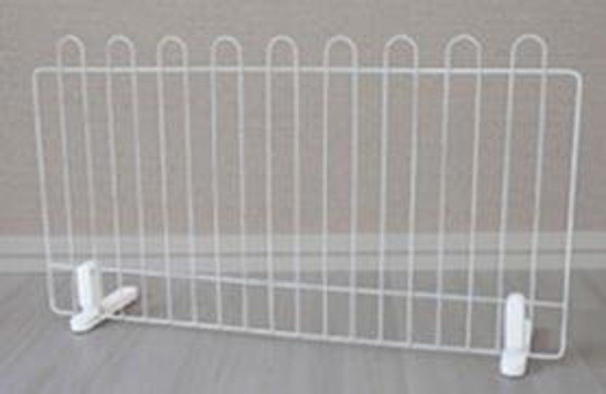 寵物門欄狗狗圍欄(白色)90x57x17cm