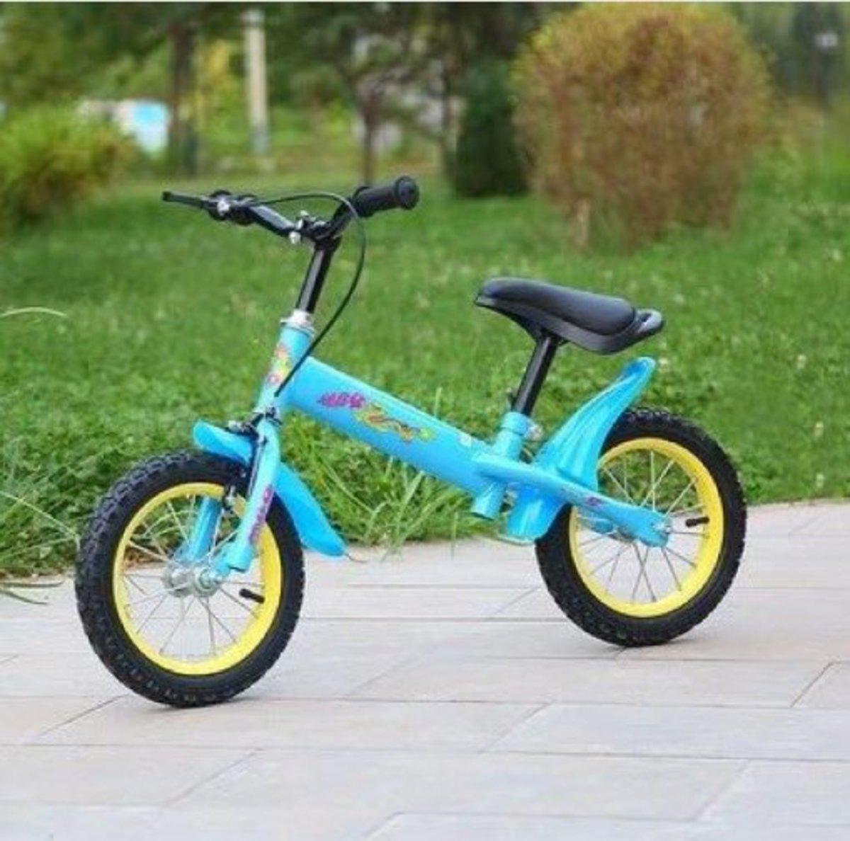 兒童平衡滑步單車(天藍色 12寸)適合2-4歲