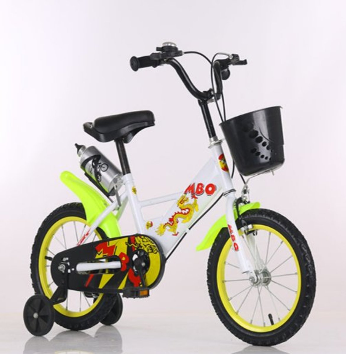 兒童單車輔助轆(白色 18寸)適合6-8歲
