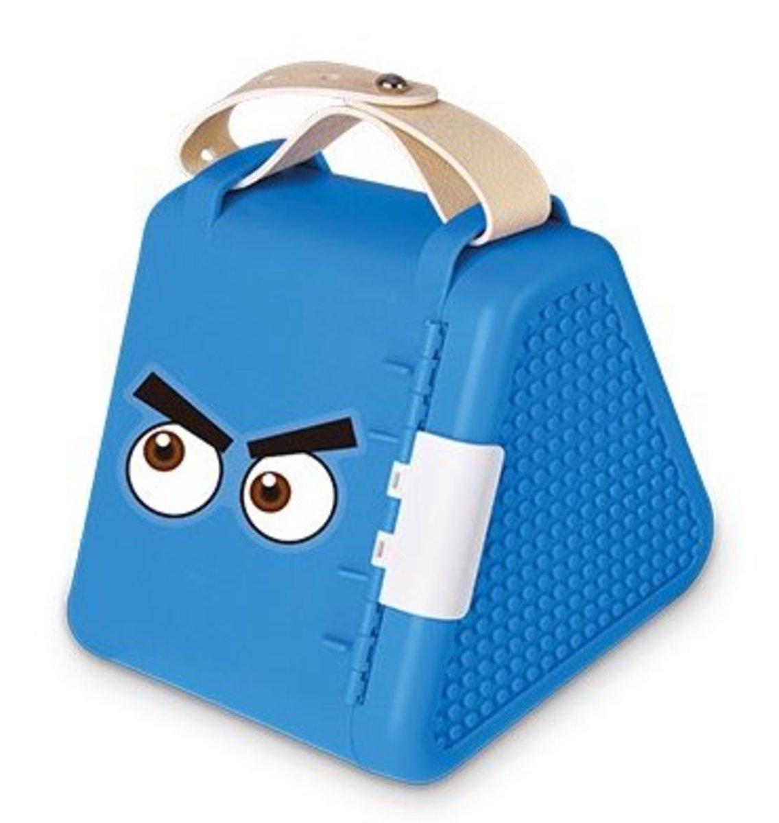 積木收納盒+300DIY小顆粒積木(15*17*16.5cm)藍色