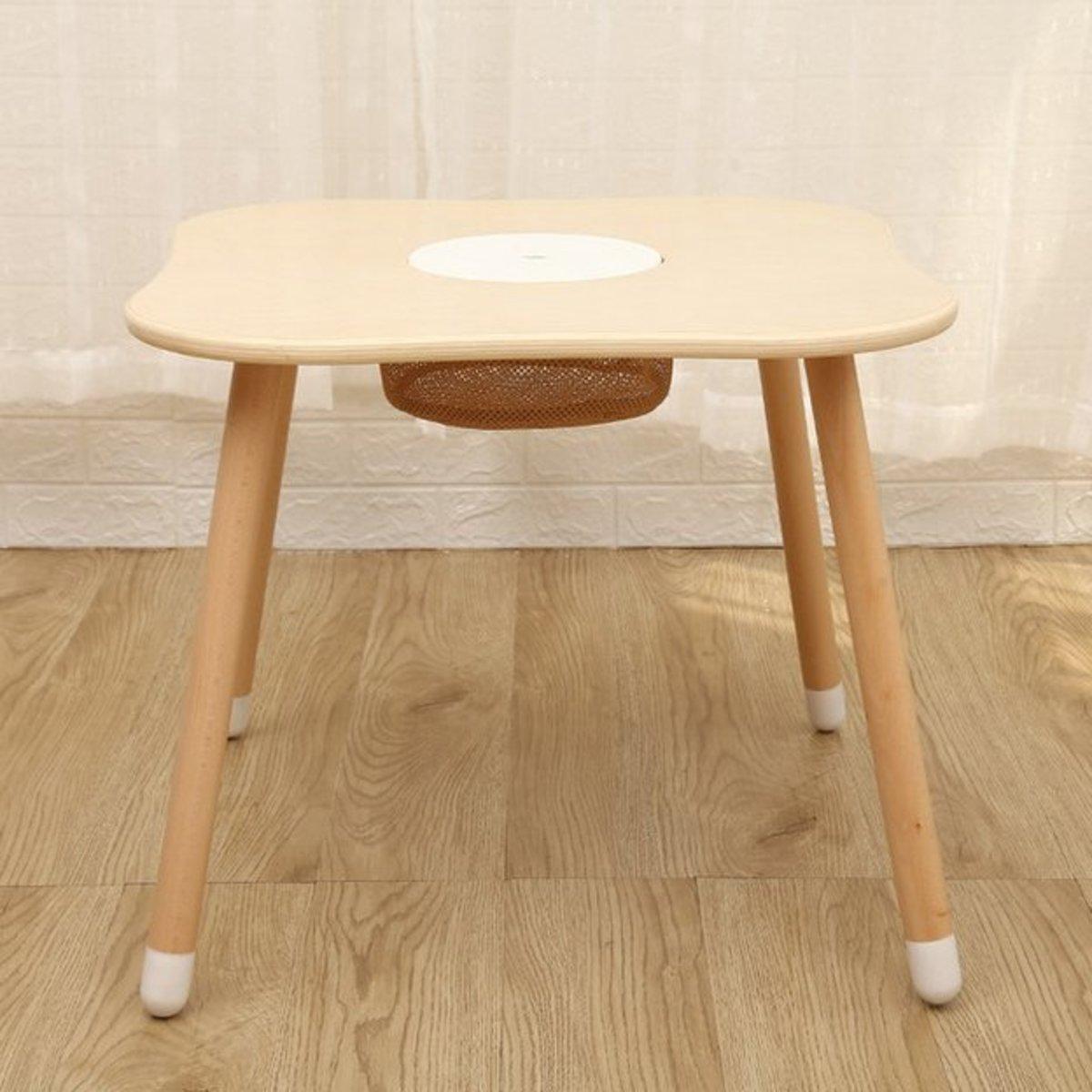桌子 白色-四葉草形 60x60x50cm