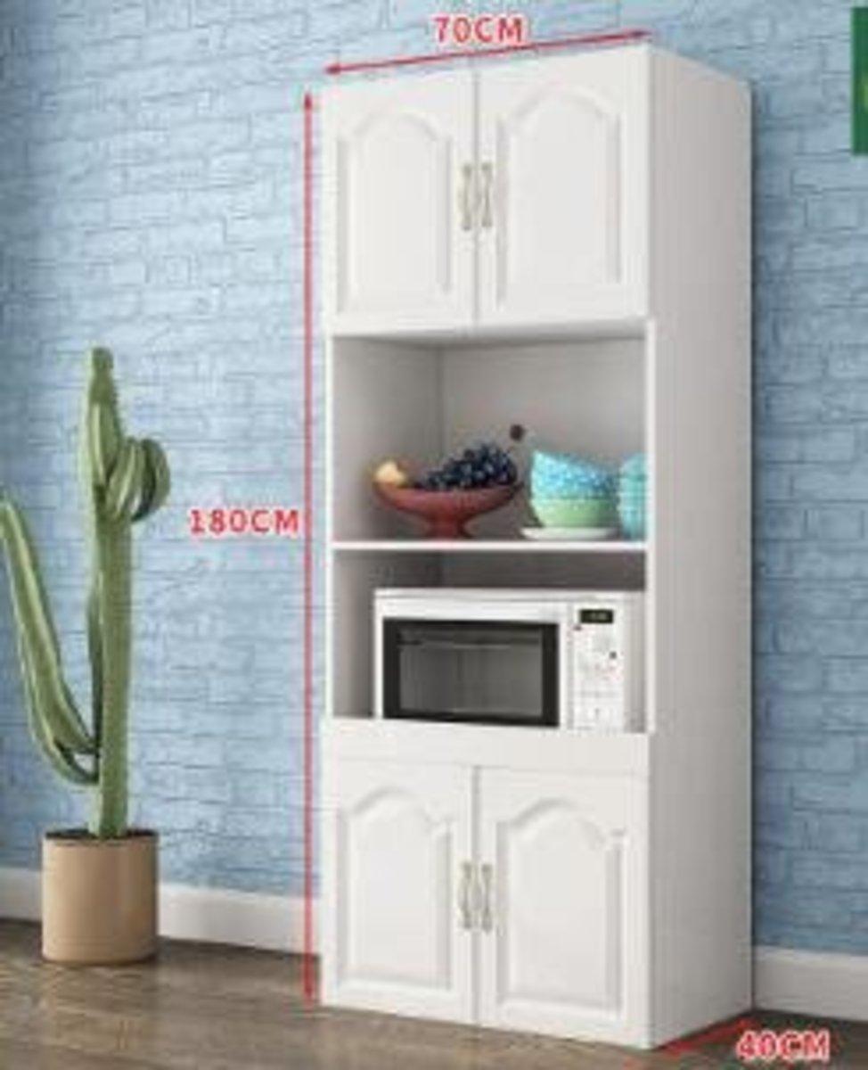 歐式現代簡約儲物櫃:B款白色 高端歐式4門