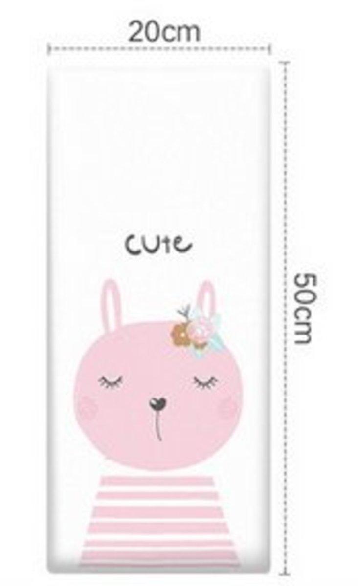 兒童學步防撞軟墊牆貼(20x50cm)(動物之家-24)#894_00016A