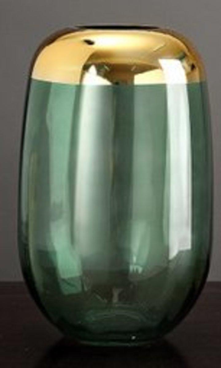 北歐輕奢透明玻璃花瓶(綠色C款)#909_00006A