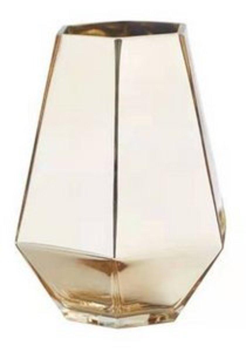 歐式鍍金土豪玻璃花瓶(1721)#909_00014A