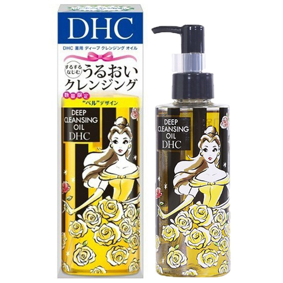 Deep Cleansing Oil 150ml (Disneyland Limited Edition Black)[Parallel Import]