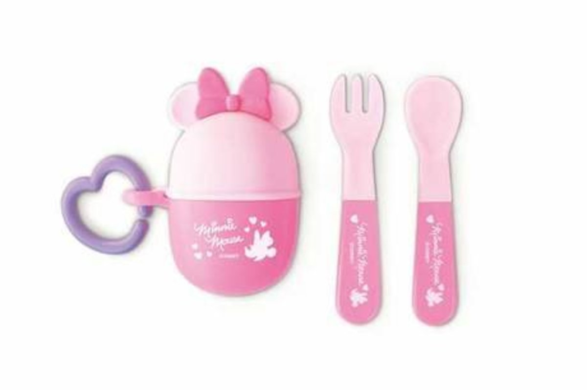 Minnie Mouse Spoon & Fork Camping Outdoor Picnic Kitchen[Parallel Import](Clearance item)