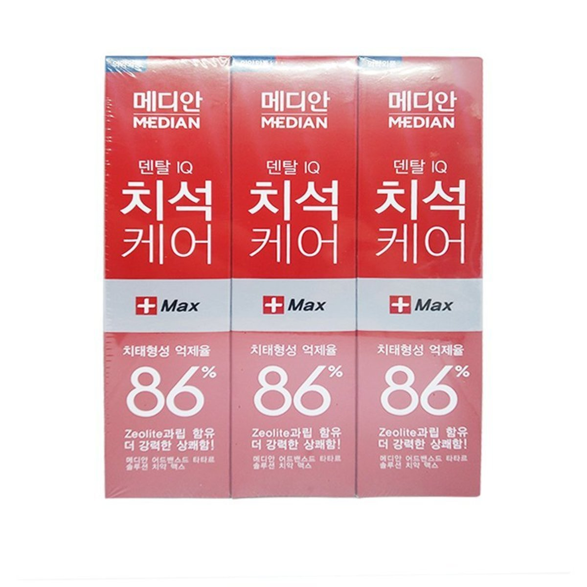 Median 93% Dental IQ Toothpaste - Red (3 pcs)[Parallel Import]