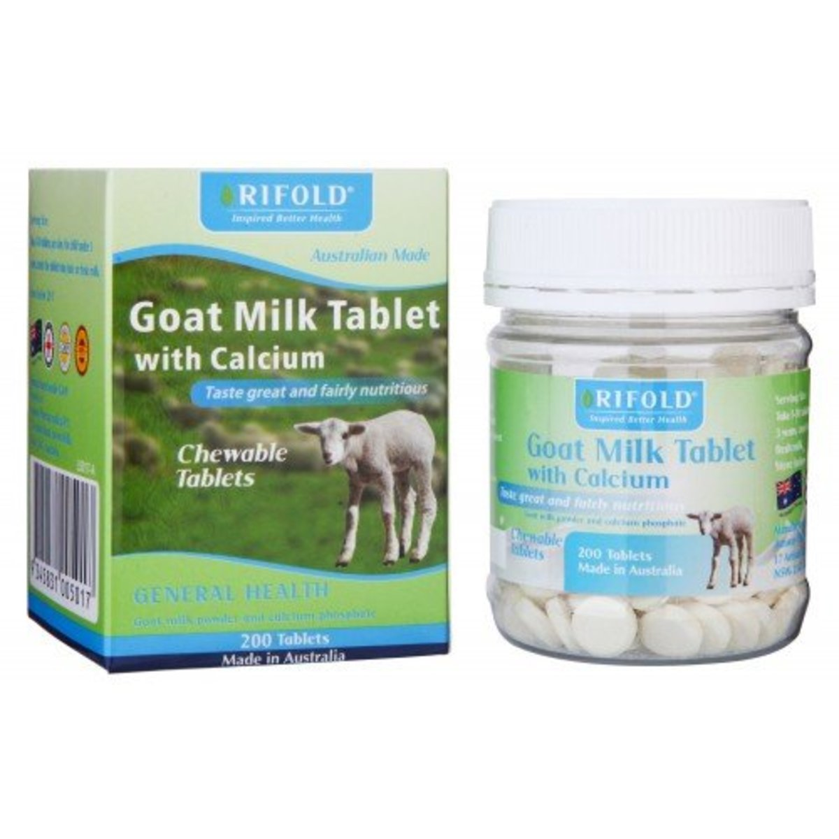 Goat Milk Tablet with Calcium[Authorized goods]