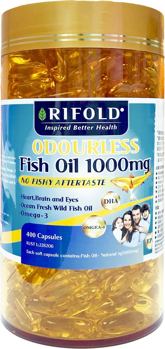 Odourless Fish Oil 1000mg[Authorized goods]