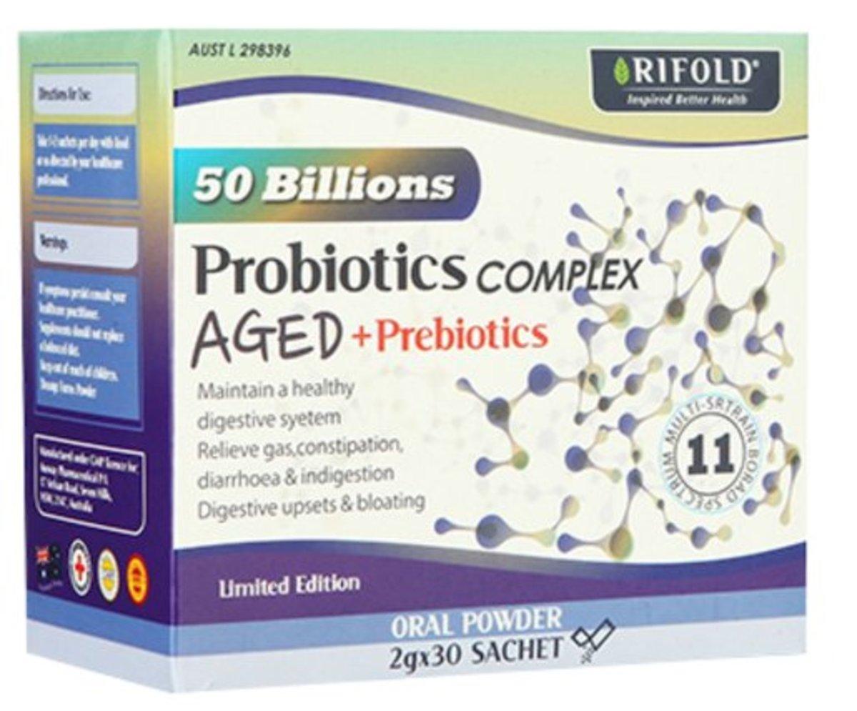 AGED + Prebiotics[Authorized goods]