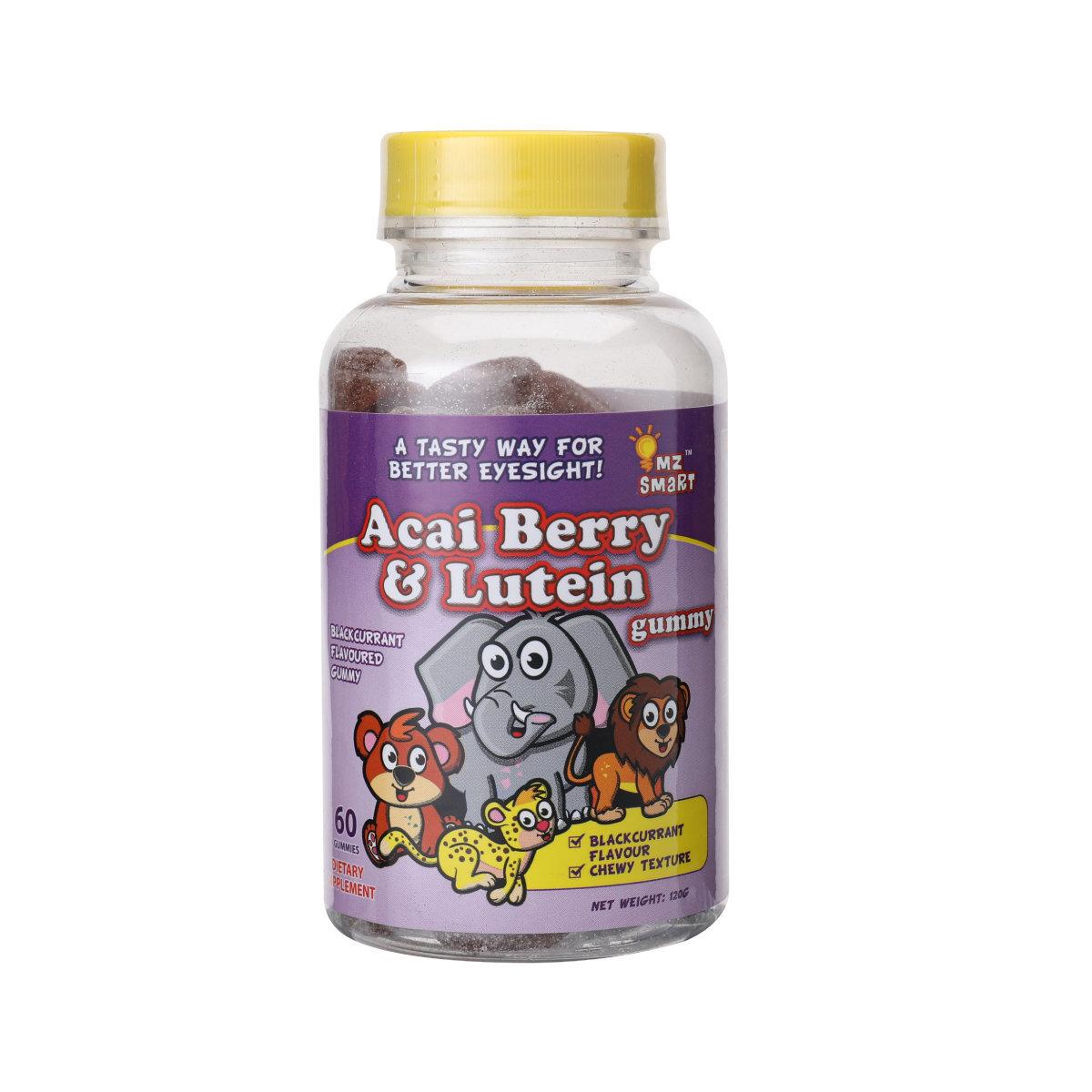 MZ聰明仔護眼巴西莓&葉黃素軟糖 60's