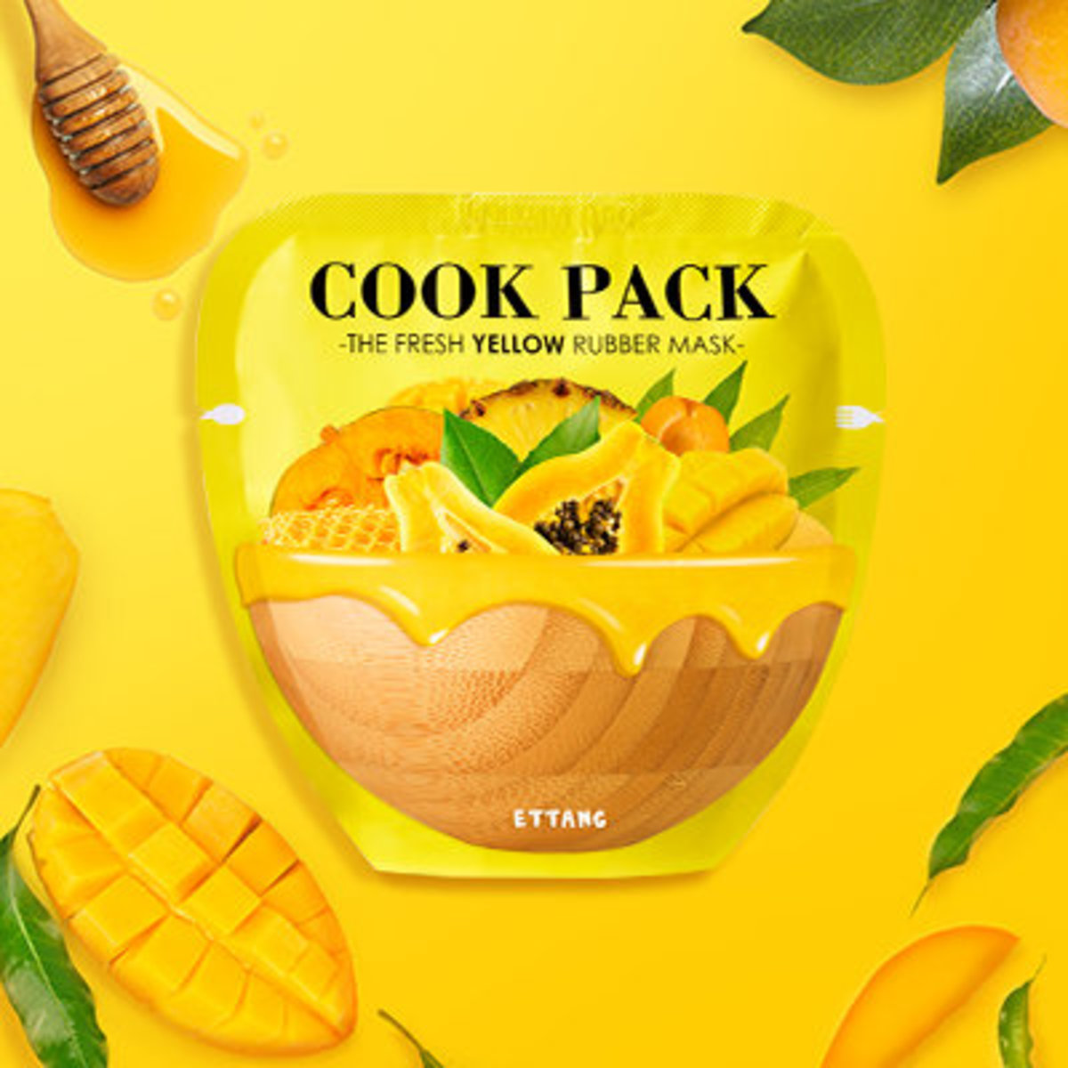 COOK PACK THE FREASH YELLOW RUBBER MASK 45G