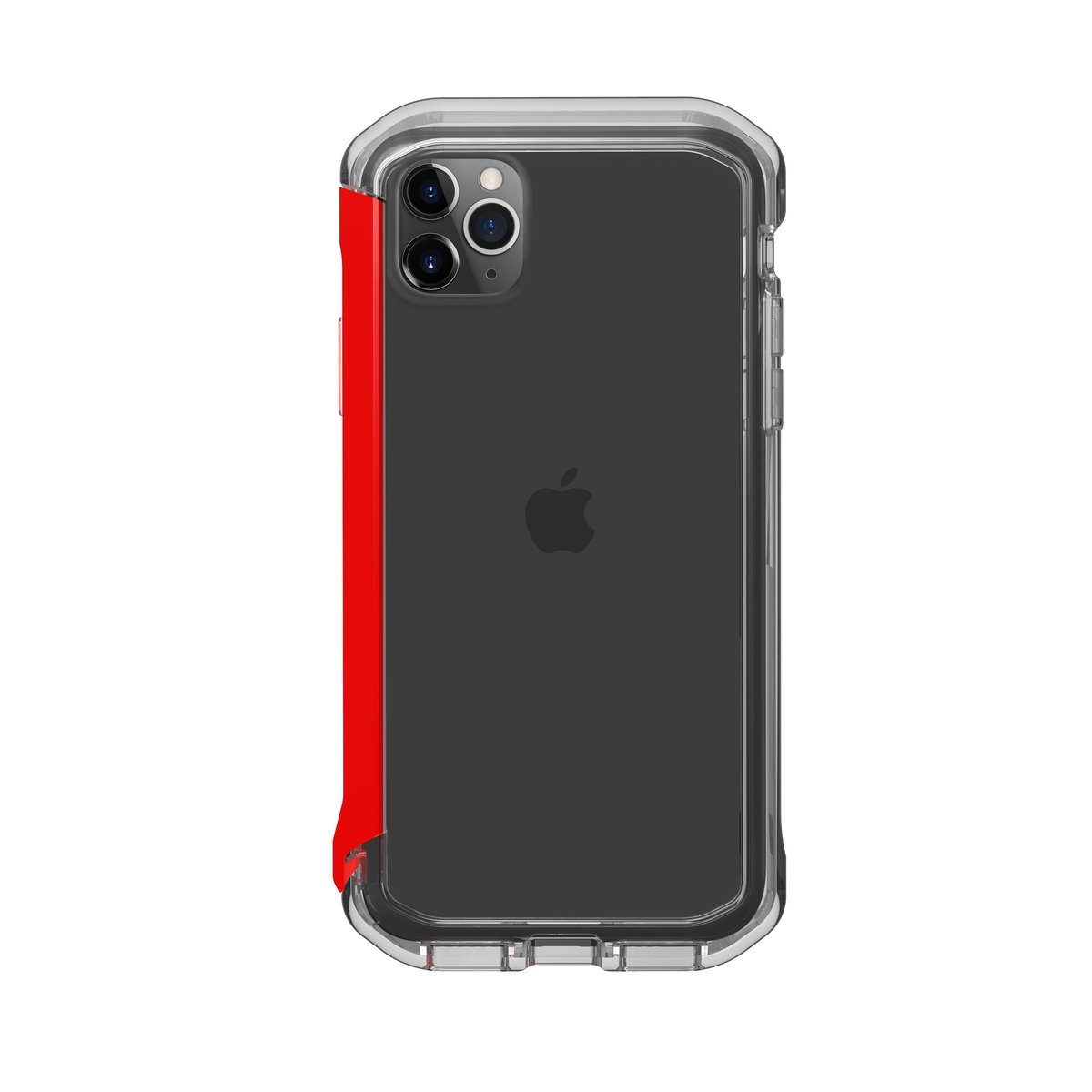 Element Case Rail iPhone 11 Pro Max 手機殼 - 透明/紅色