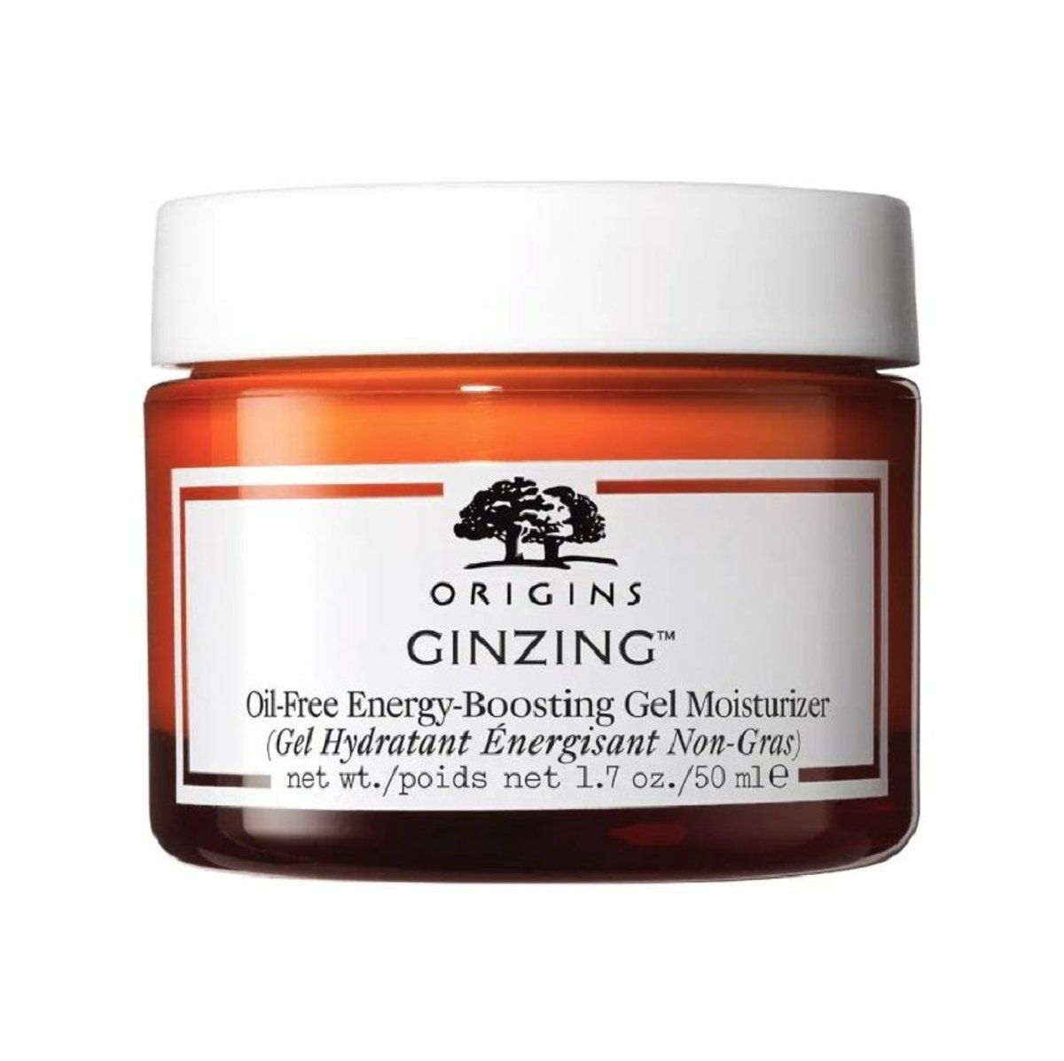 Ginzing Oil Free Energy-Boosting Gel Moisturizer 50ml (Parallel Import)