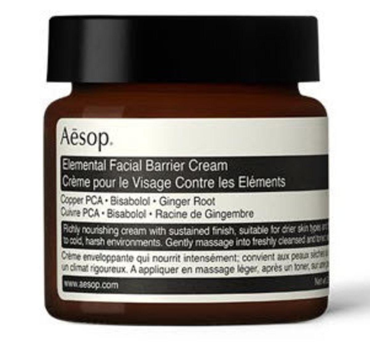 Elemental Facial Barrier Cream 60ml (Parallel Import)