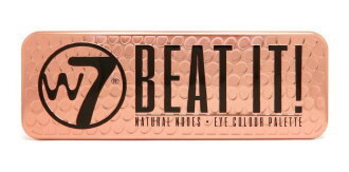 Eye Shadow Palette Beat It Make Up Colour Natural Nudes - Beat It  || 12色眼影盤 自然裸色調
