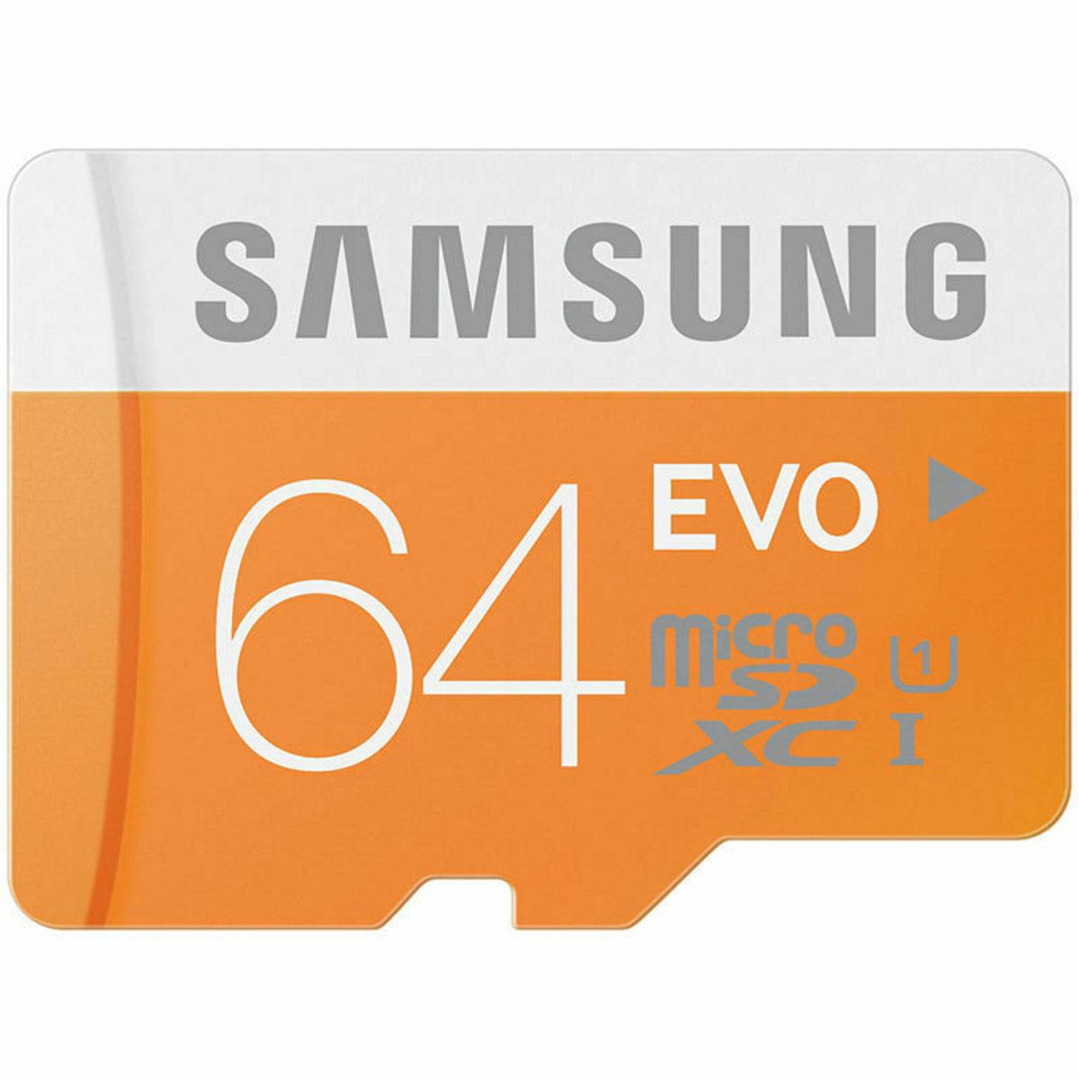 PARALLEL GOODS(ORANGE)MICROSDXC UHS-I EVO+ 64GB MEMORY CARD