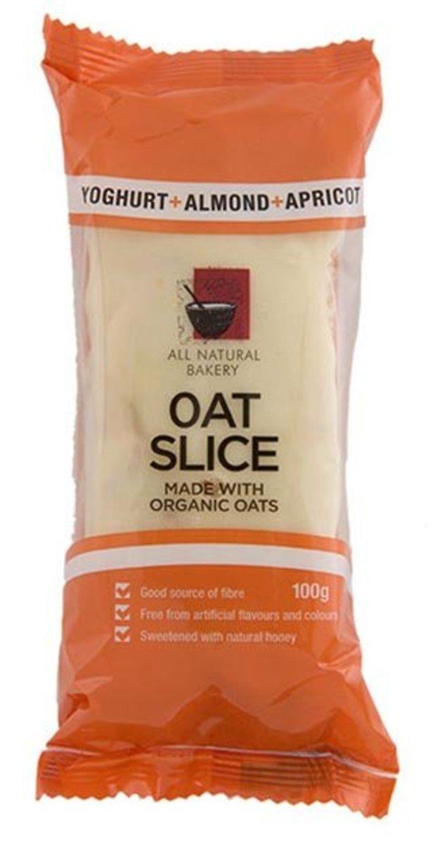 有機燕麥營養條 - 乳酪杏仁杏脯 100克
