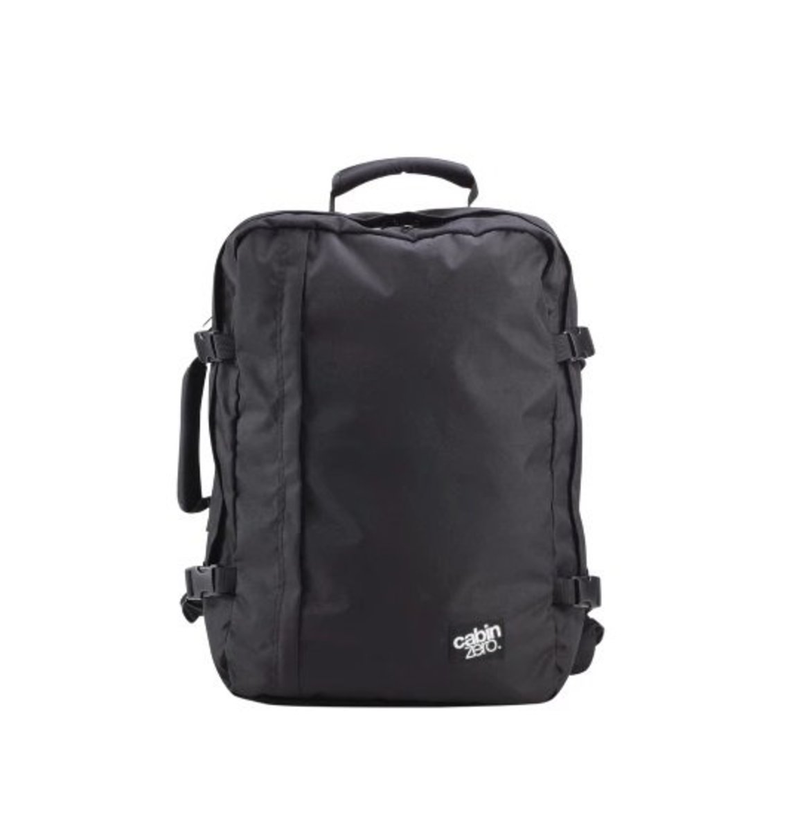 Hand Carry 44L Large Capacity Travel Backpack (Black)