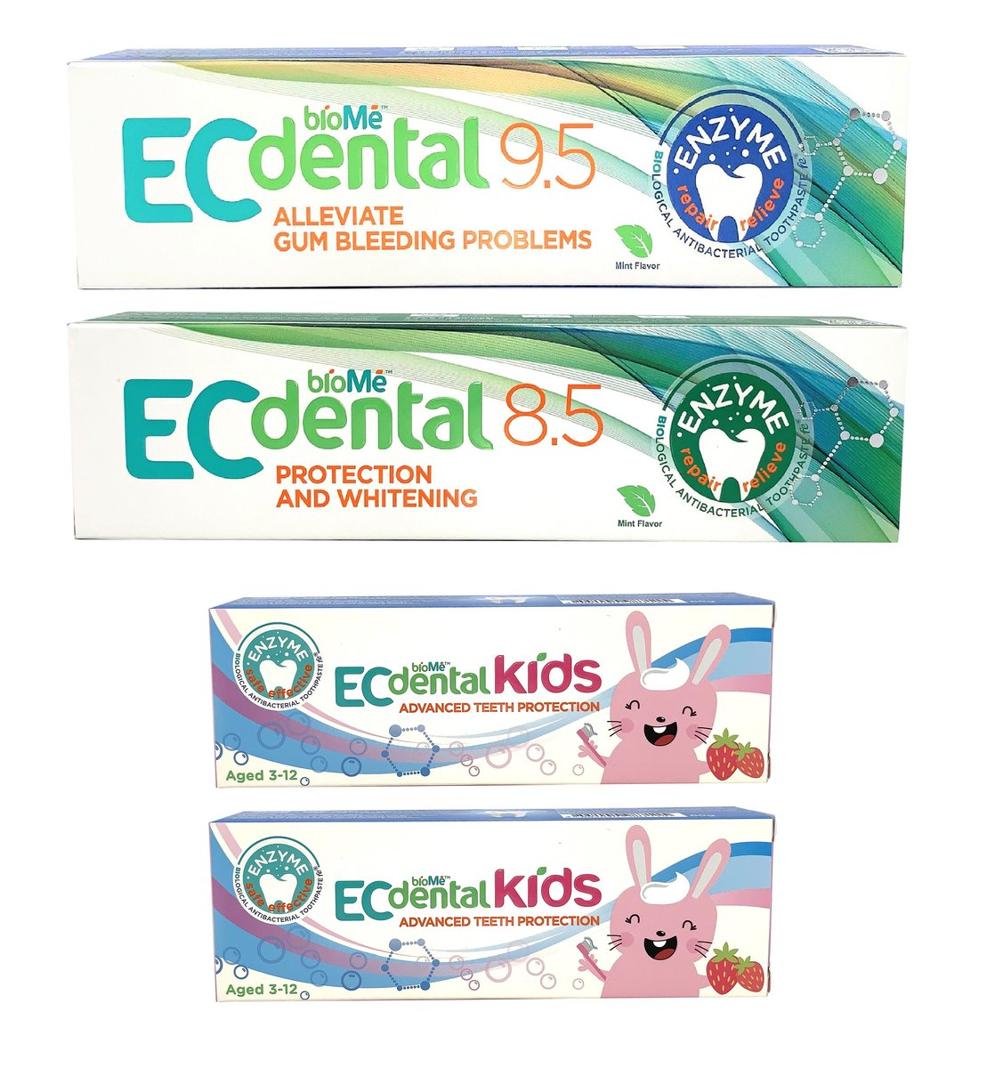 EC dental Biological Enzymatic Toothpaste - Family Special