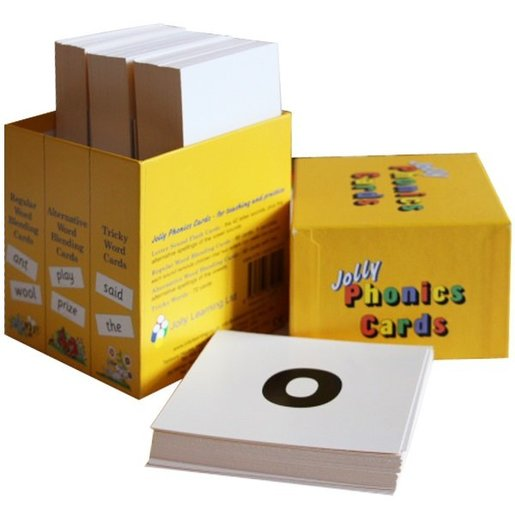 Jolly Phonics Cards set of 4 Boxes