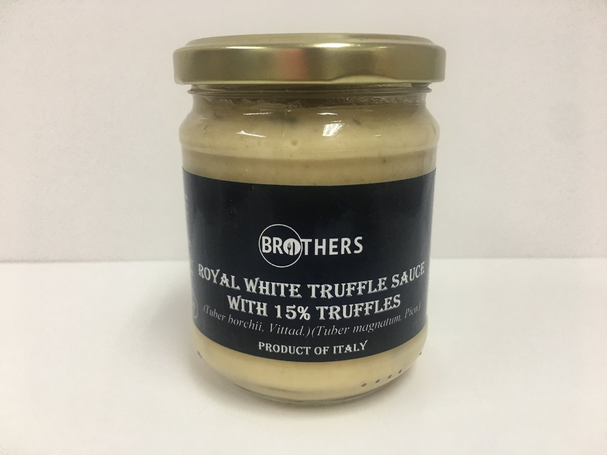 【Italy】 (15%) Royal white truffle sauce 180g