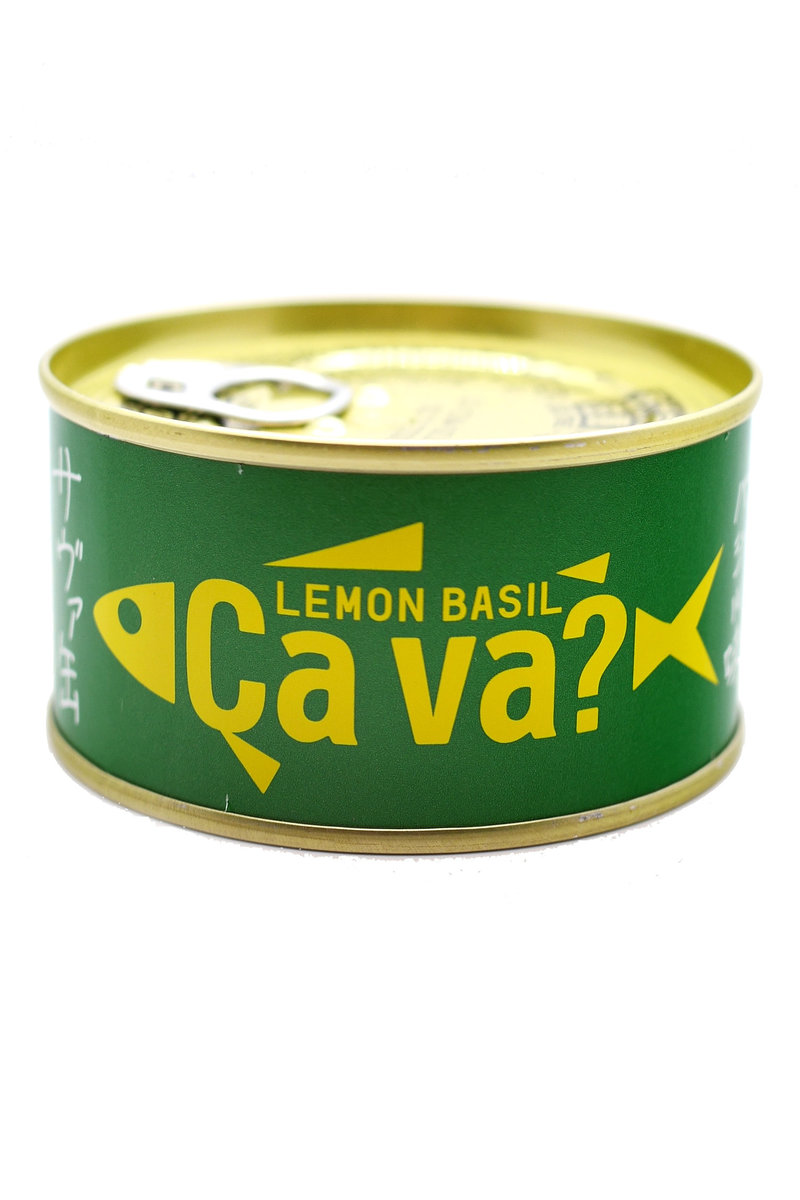 Lemon Basil Canned Mackerel CA VA 170g