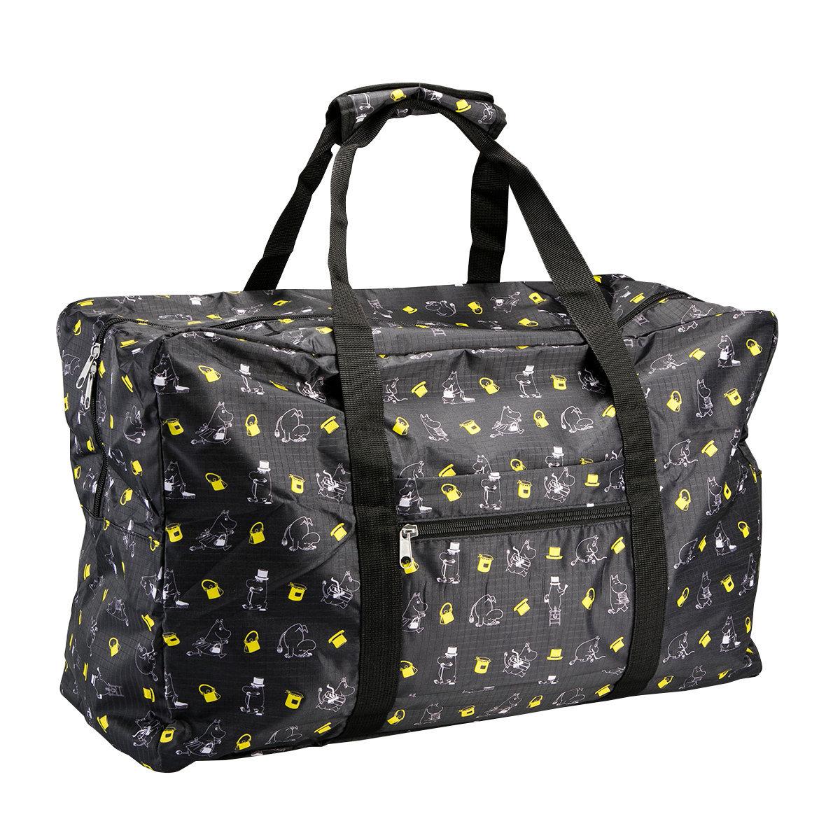 姆明日系折疊旅行行李袋