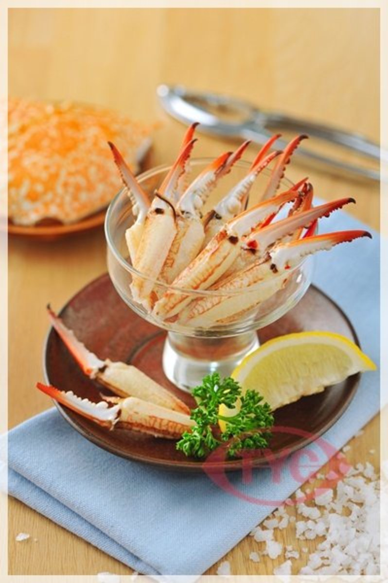 Crab Meat Cocktail Claw